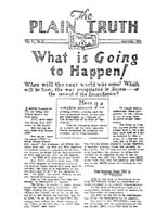 Herbert W. Armstrong Searchable Library - The Plain Truth ... - photo#14