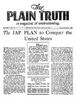 Herbert W. Armstrong Searchable Library - The Plain Truth ... - photo#44